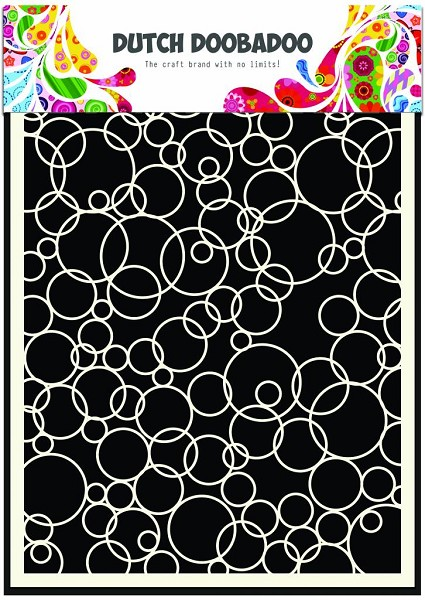 Dutch Doobadoo - Maskingstencil - Bubbles 3 - 470.990.004