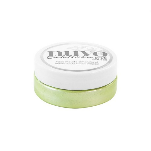 Nuvo - Embellishment mousse: Spring green - 808N