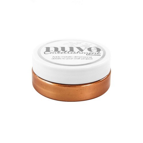 Nuvo - Embellishment mousse: Fresh copper - 809N
