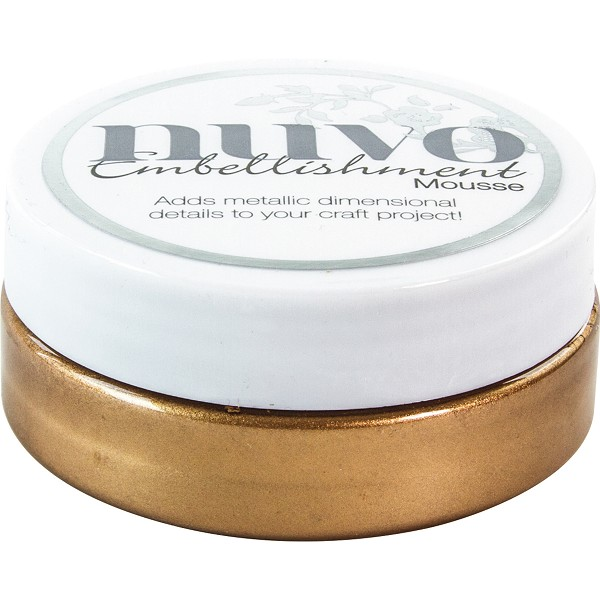 Nuvo - Embellishment mousse: Persian red - 818N
