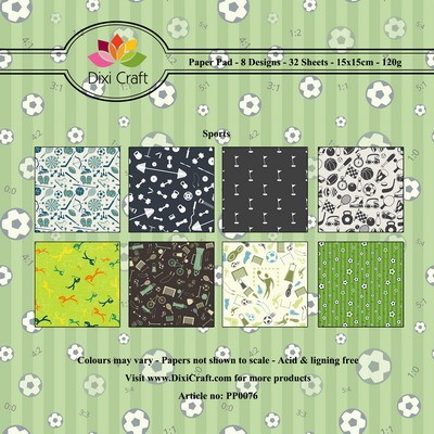 Dixi Craft - Paperpack - Sports - PP0076