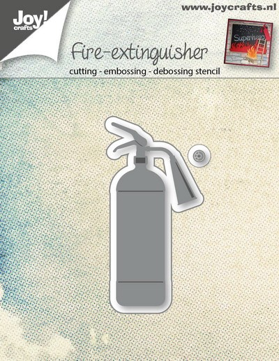 Joy! crafts - Die - Fire Extuiguisher