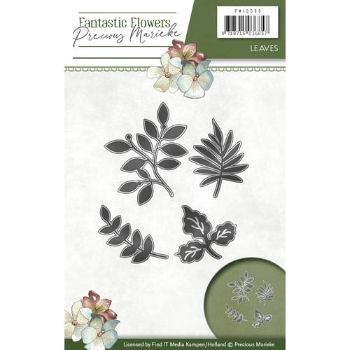 Precious Marieke - Die - Fantastic Flowers - Leaves - PM10096
