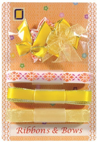 JEJE - Ribbons & Bows: Geel - 8.9007