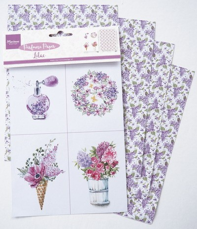Marianne Design - Perfumed Paper - Lilac - CA3131