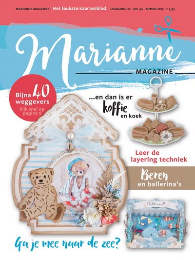 Marianne Design - Marianne Doe - Magazine No. 34 - DOE34