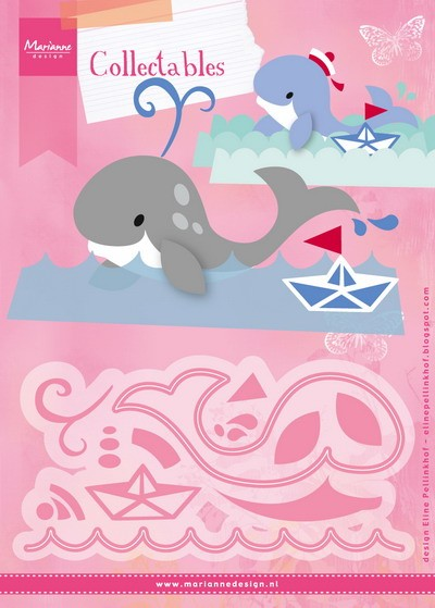 Marianne Design - Die - Collectables - Eline`s Whale - COL1430
