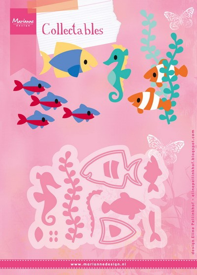 Marianne Design - Die - Collectables - Eline`s Tropical Fish - COL1431