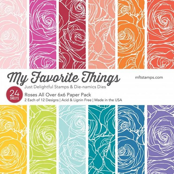 My Favorite Things - Paperpack - Roses All Over - EP-39
