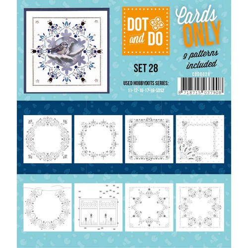 Card Deco - Oplegkaarten - Dot & Do - Cards Only - Set 28 - CODO028