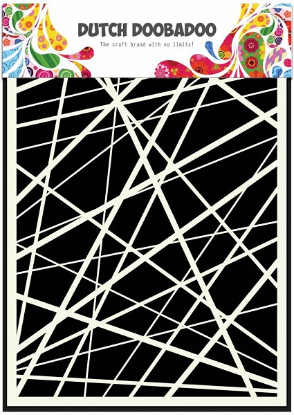 Dutch Doobadoo - Maskingstencil - A5 - Stripes - 470.715.105