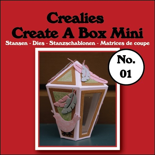 Crealies - Die - Create-A-Box - Mini - Lantaarn - CCABM01