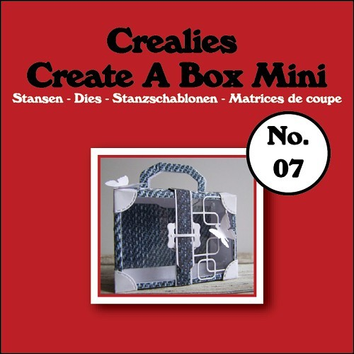 Crealies - Die - Create-A-Box - Mini - Koffer - CCABM07