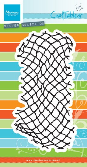 Marianne Design - Die - Craftables - Tiny`s fishnet - CR1409
