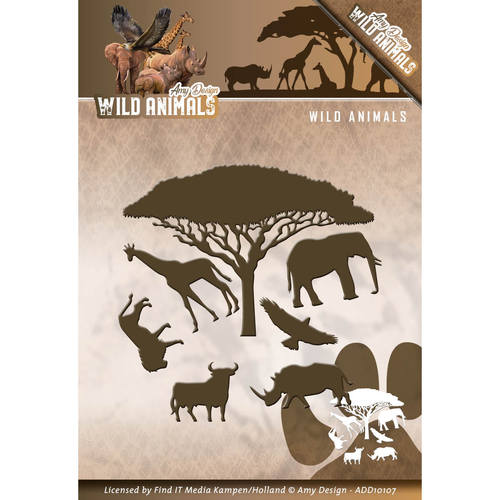 Amy Design - Die - Wild Animals - Wild Animals - ADD10107