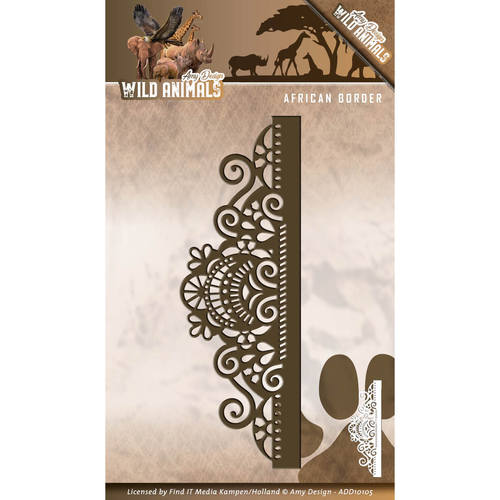 Amy Design - Die - Wild Animals - African Border - ADD10105