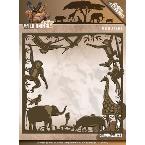 Amy Design - Die - Wild Animals - Wild frame - ADD10103