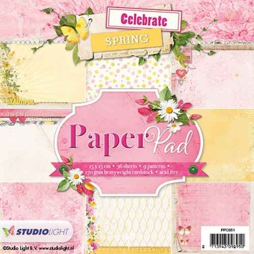Studio Light - Paperpack - Nr. 51 - Celebrate Spring - PPCS51