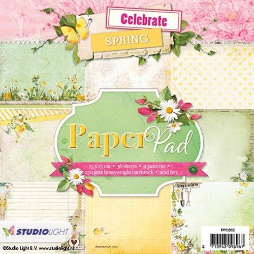 Studio Light - Paperpack - Nr. 52 - Celebrate Spring - PPCS52