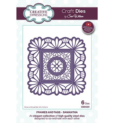 Creative Expressions - Die - The Frames & Tags Collection - Samantha - CED4331