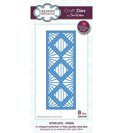 Creative Expressions - Die - The Striplet Collection - Prism - CED1626
