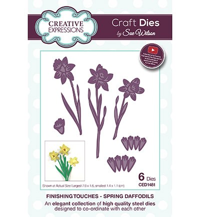 Creative Expressions - Die - The Finishing Touches Collection - Spring Daffodils