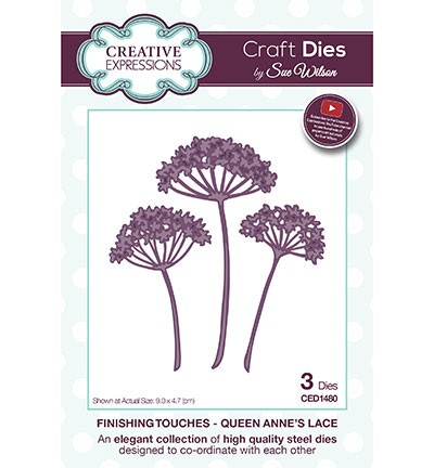 Creative Expressions - Die - The Finishing Touches Collection - Queen Annes Lace