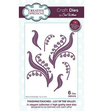 Creative Expressions - Die - The Finishing Touches Collection - Lily of the valley - CED1478