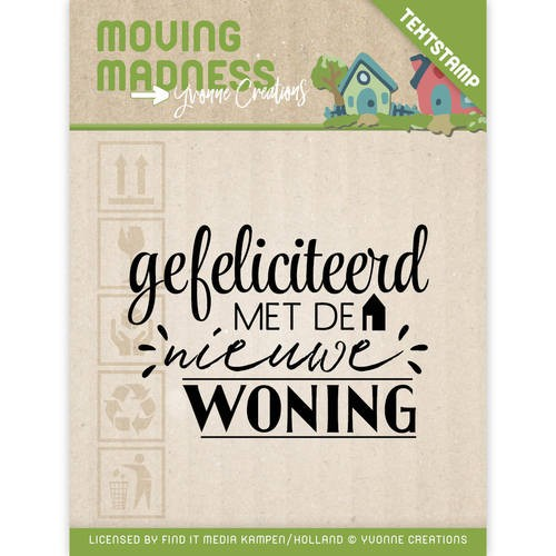 Yvonne Creations - Clearstamp - Moving Madness - YCCS10032