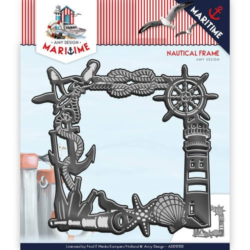 Amy Design - Die - Martime - Nautical Frame - ADD10100