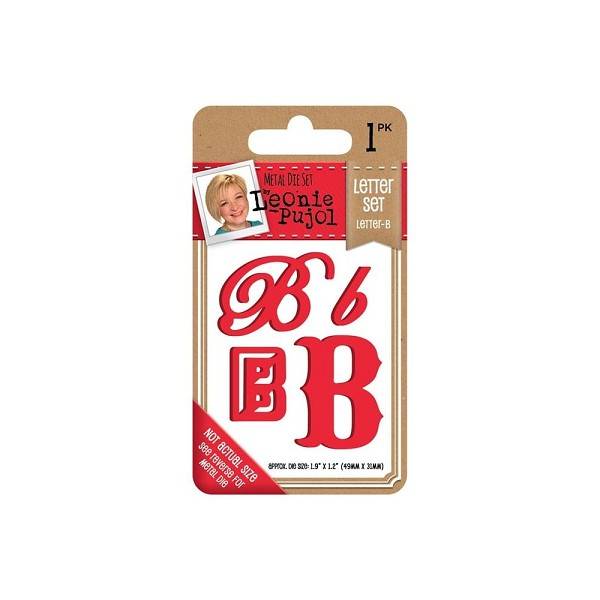 Crafter`s Companion - Leonie Pujol - Die - Letter set - Letter B - LP-MD-LETB