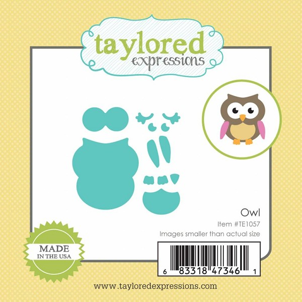 Taylored Expressions - Die - Little Bits Owl - TE1057