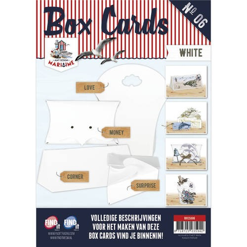Card Deco - Box Cards 6: Wit - BXCS006-01