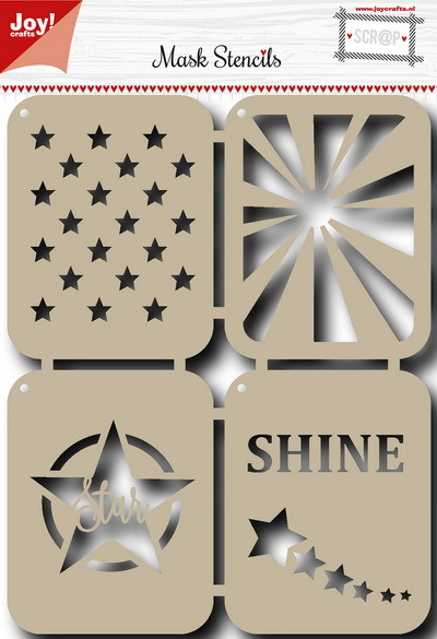Joy! crafts - Maskingstencil - Stars - 6002/0829