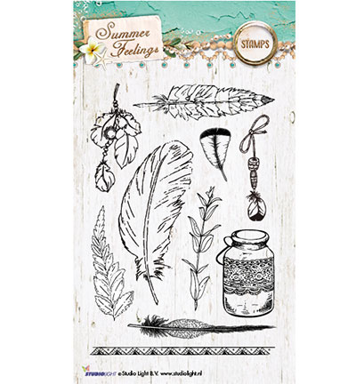 Studio Light - Clearstamp - Summer Feelings Collection - STAMPSF189