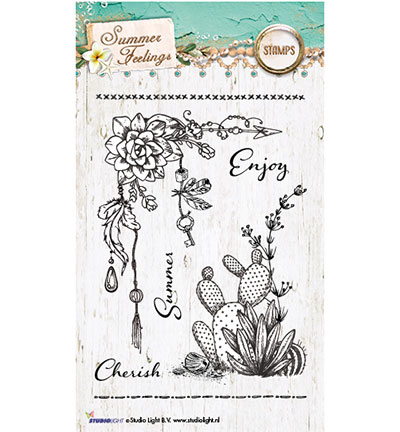 Studio Light - Clearstamp - Summer Feelings Collection - STAMPSF190