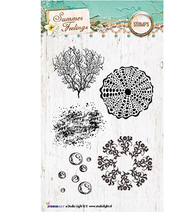 Studio Light - Clearstamp - Summer Feelings Collection - STAMPSF191