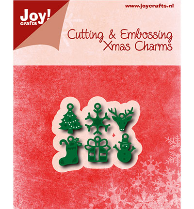 Joy! crafts - Noor! Design - Die - Kerstbedeltjes - 6002/0779