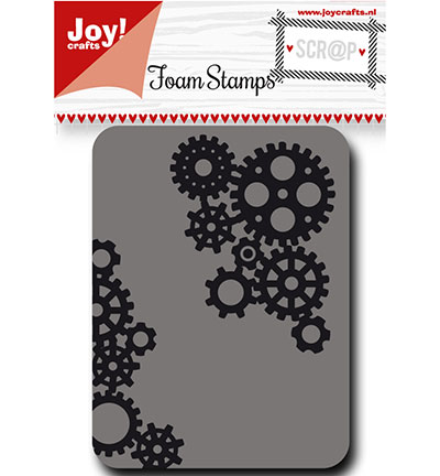 Joy! crafts - Noor! Design - Foam Stamps - Tandwielen