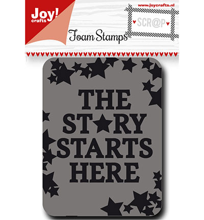 Joy! crafts - Noor! Design - Foam Stamps - Sterren