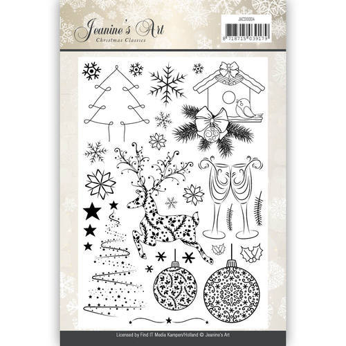 Jeanine`s Art - Clearstamp - Christmas Classics - JACS10004