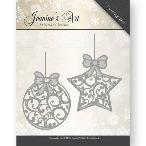 Jeanine`s Art - Die - Christmas Classics - Christmas ornaments