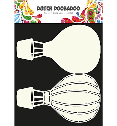 Dutch Doobadoo - Card Art - Airballoons