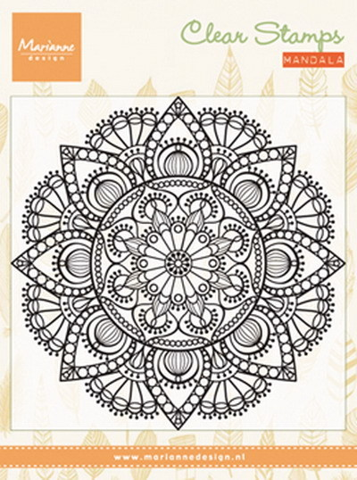 Marianne Design - Clearstamp - Mandala - CS0988