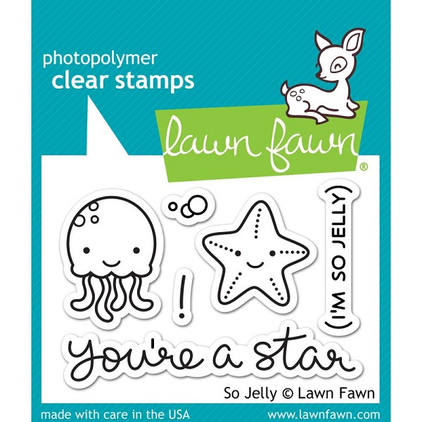 Lawn Fawn - Clearstamps - So Jelly - LF0899