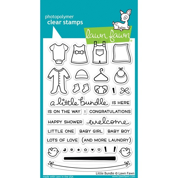 Lawn Fawn - Clearstamps - Little Bundle - LF1127