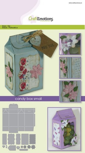CraftEmotions - Die - Doosjes - Candy Box small - 115633/1502