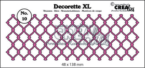 Crealies - Die - Decorette XL - No. 10 - Braided wire - CLDRXL10