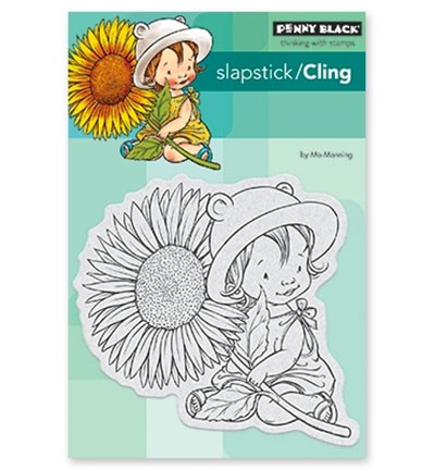 Penny Black - Cling Stamp - Sunflower Baby - 40-526