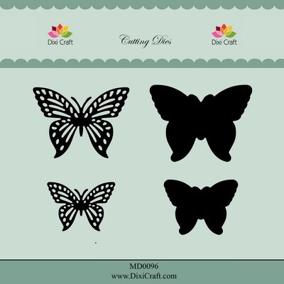 Dixi Craft - Die - Butterflies - MD0096